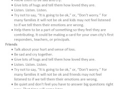 A Guide for Times Like These | How to help your kids, friends, and self in a time of tragedy