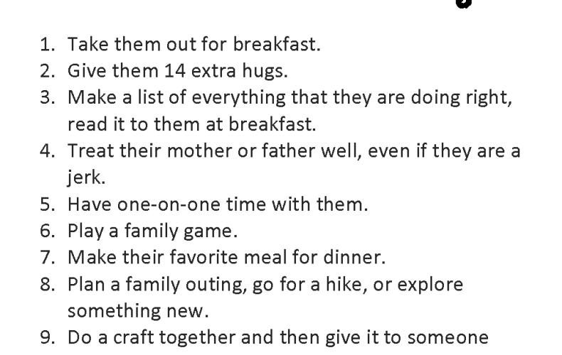 14 Ways to Show Your Kids Love on Valentine's Day