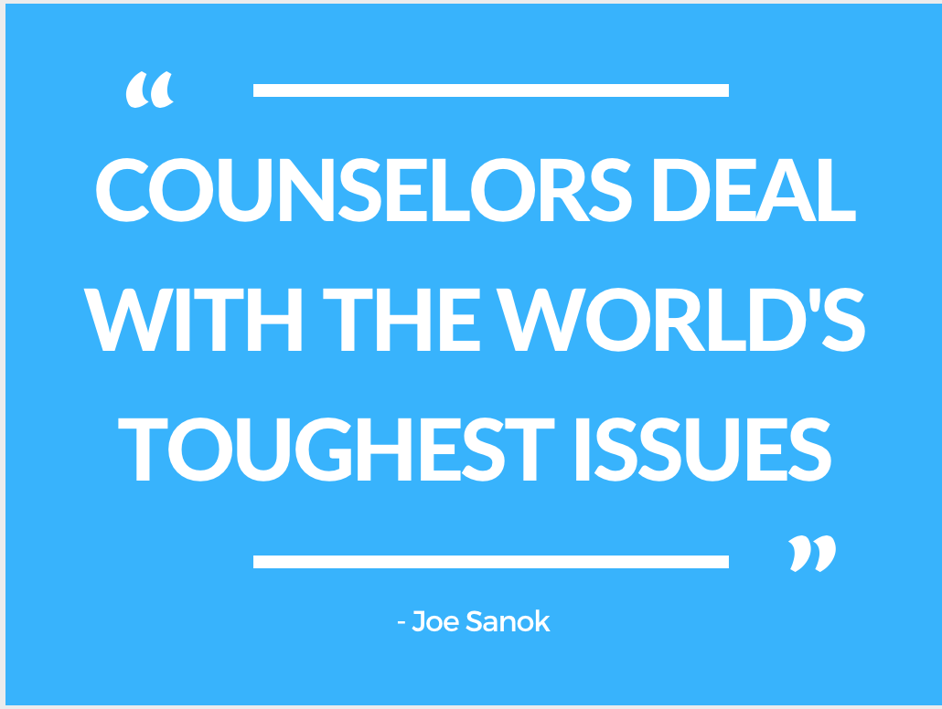 Counseling Archives Mental Wellness Back Gt Gallery For Series And Parallel Circuits Kids Worksheets When Adults Asked Young Joe Sanok What He Wanted To Be Grew Up Would Confidently Shoot A Psychologist Ive Always Been Motivated Help